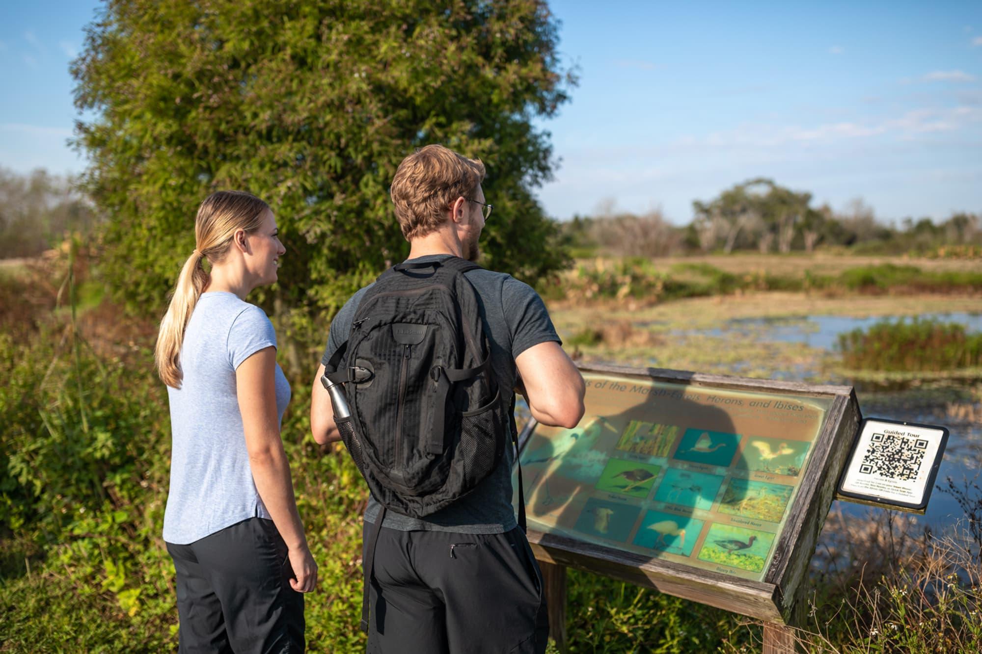 Hiking Trail, Circle B Bar Reserve in Lakeland, FL