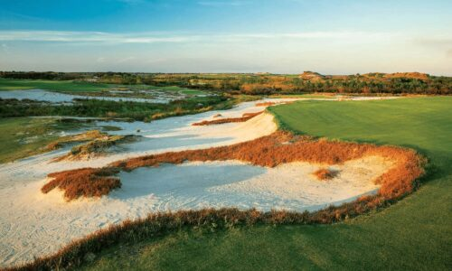 Luxury Golf Resort - Streamsong Resort Black course number 5 hole