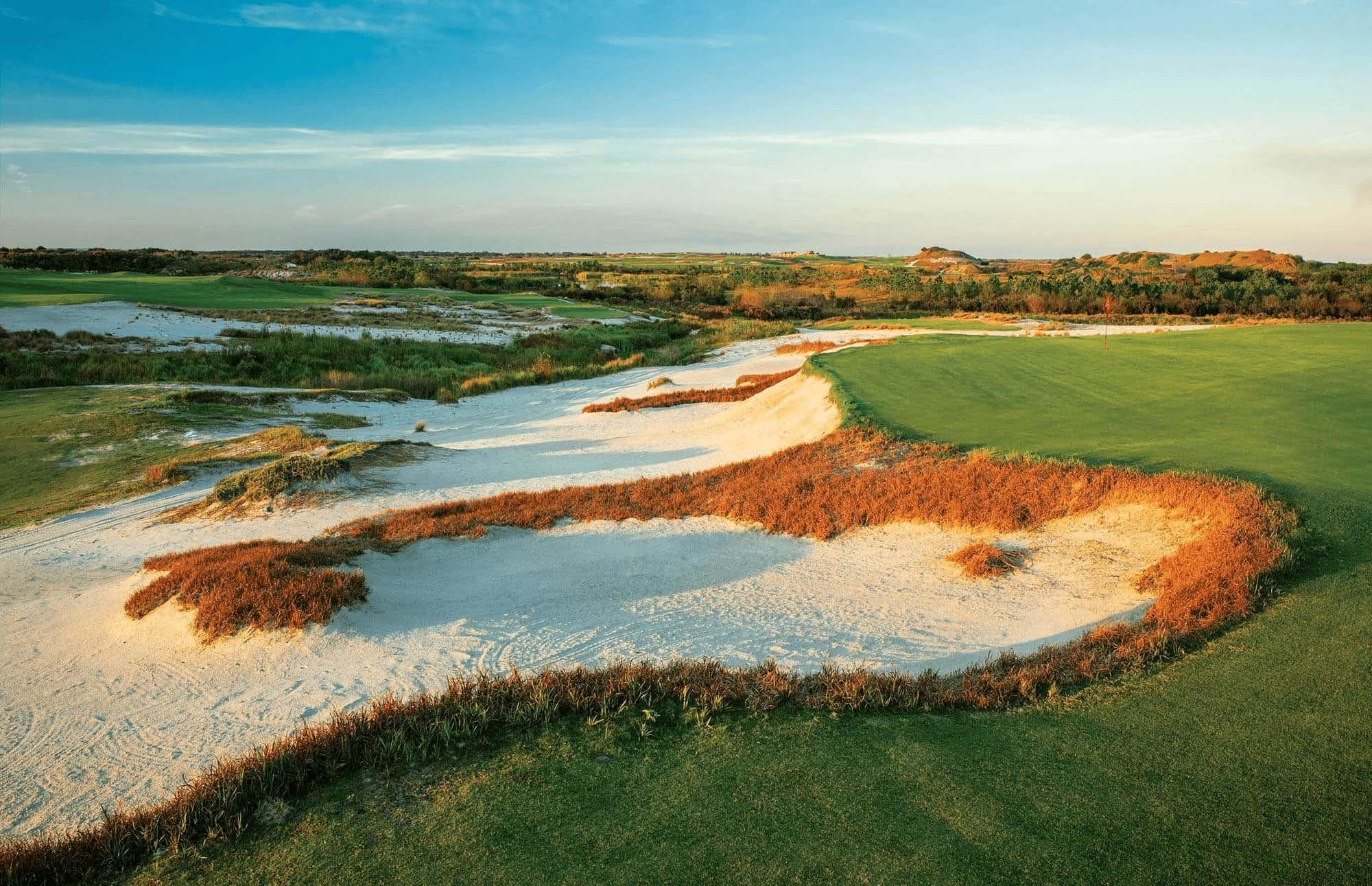 Central Florida Golf Resort - Streamsong Resort Black course number 5 hole