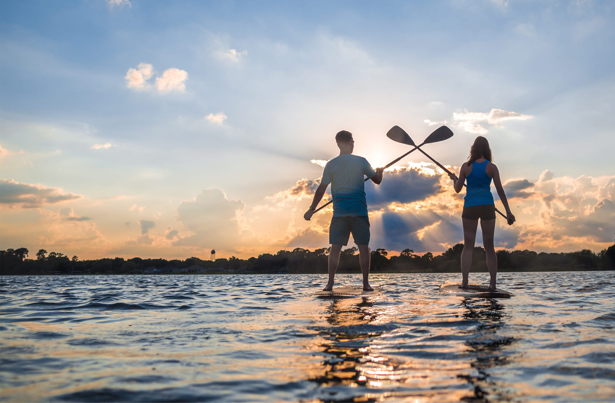 Include stand up paddleboarding when you plan your Central Florida vacation.