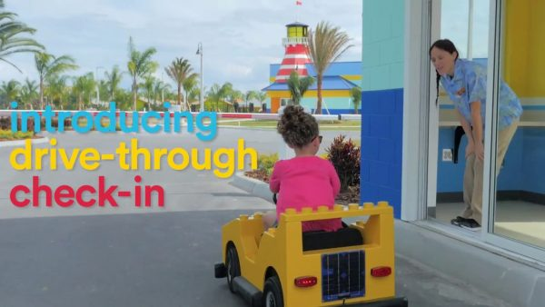 Poster Image for LEGOLAND® Beach Retreat Introduces Drive-Through Check-in!