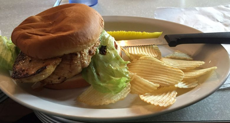 Andy's Igloo Chicken Sandwich