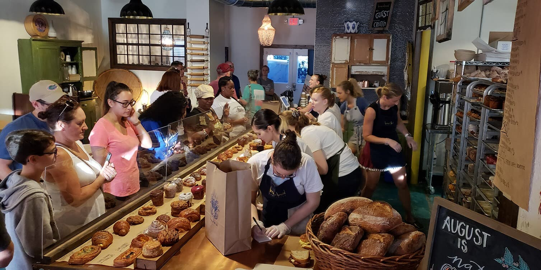 Born Bread Bakehouse Saturday Morning