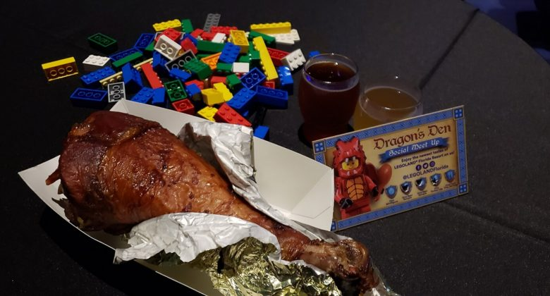 Dragons Den Turkey Leg At Legoland