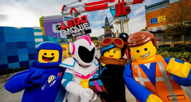 LEGO Movie World at LEGOLAND Florida Resort Web Conference Meeting Backgrounds