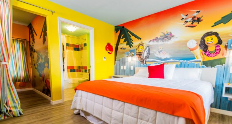 LEGOLAND Beach Retreat bedroom suite