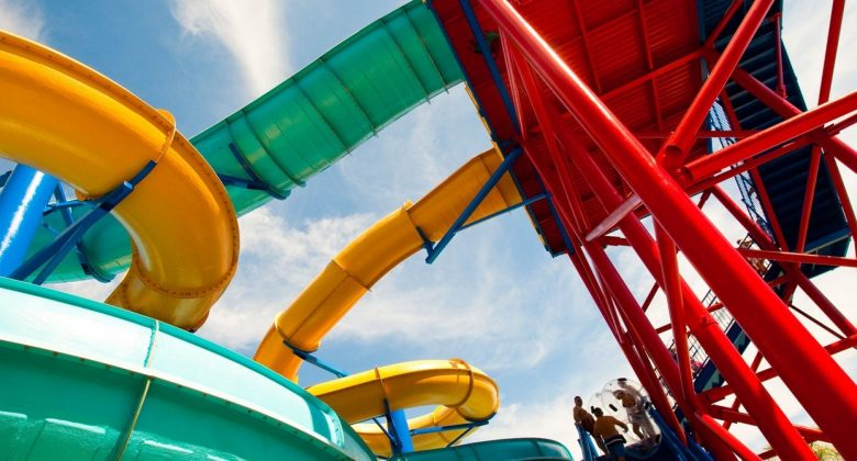 twin chasers ride at LEGOLAND Water Park