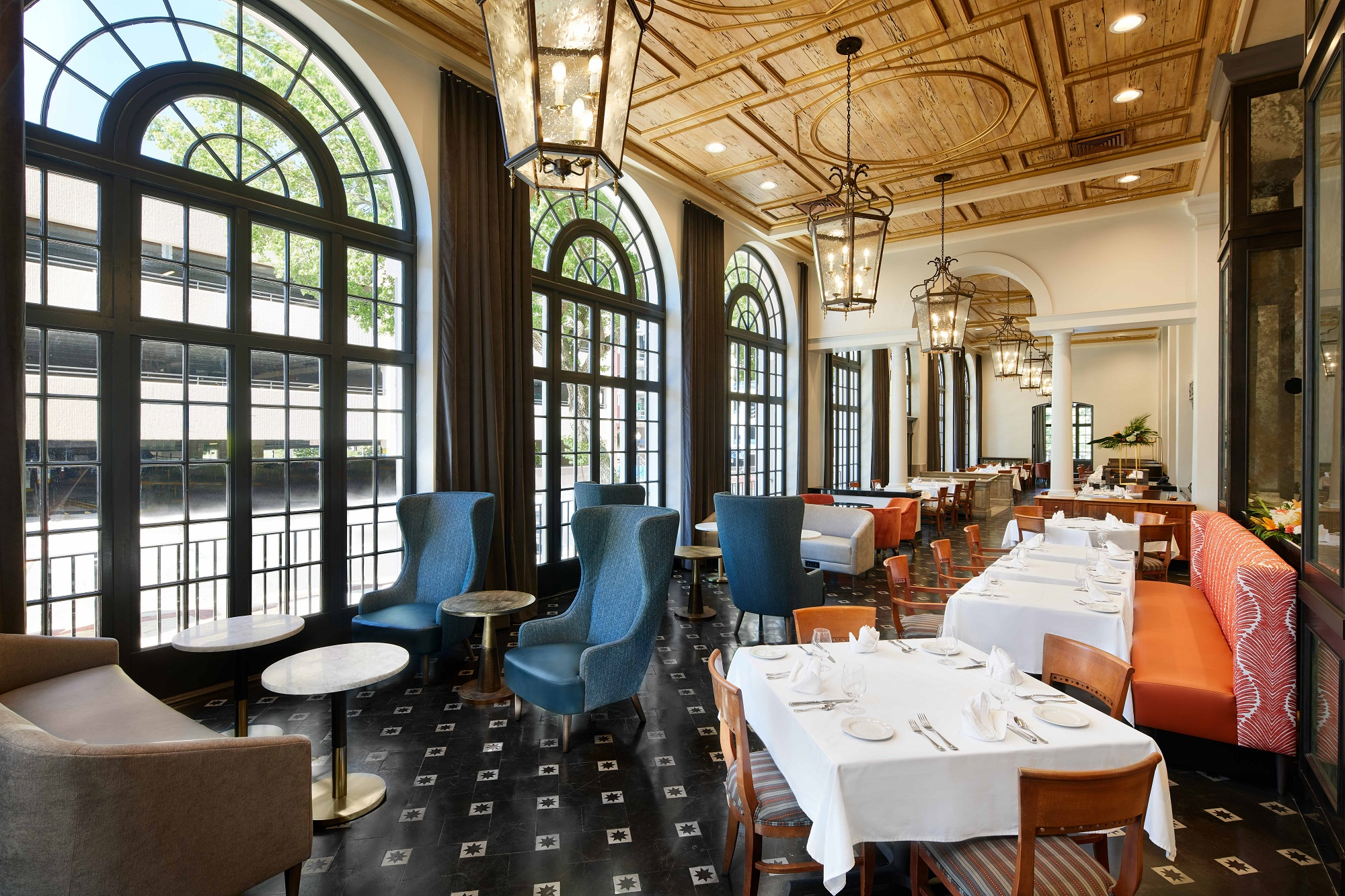 Renovated Terrace Grille dining area in Lakeland, FL