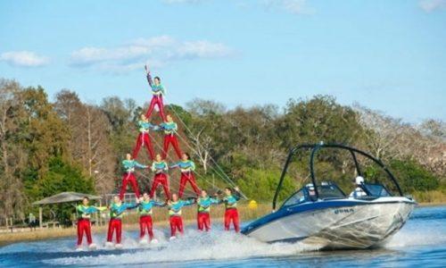 Cypress Gardens Water Ski Team
