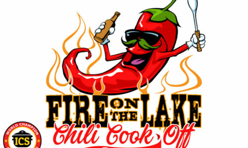 logo for Fire on the Lake Chili Cook Off