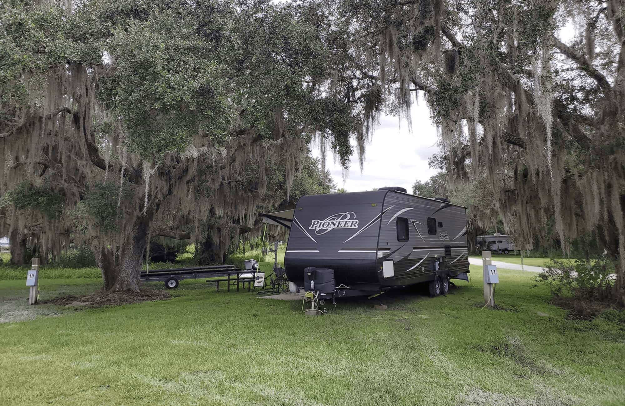 Coleman Landing Campground at Shady Oaks travel trailer
