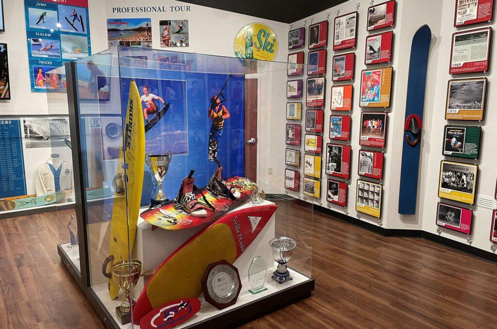 wakeboarding memorabilia USA Water Ski and Wake Sports Foundation Hall of Fame in Davenport, FL
