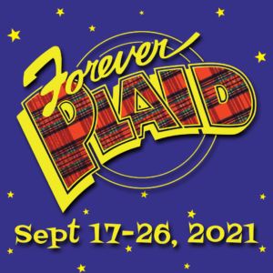 Forever Plaid Poster for Small But Mighty Musicals Series