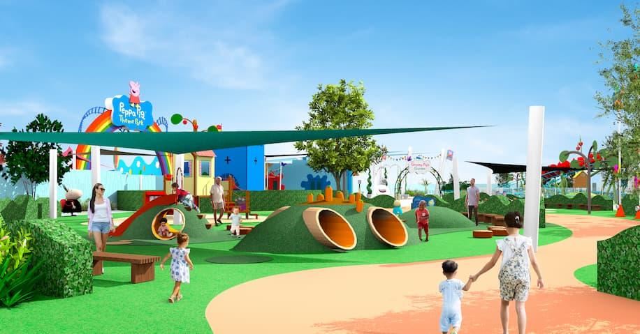 Rendering of Rebecca Rabbit's Playground