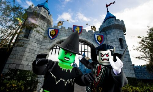 Monsters at Legoland Brick or Treat